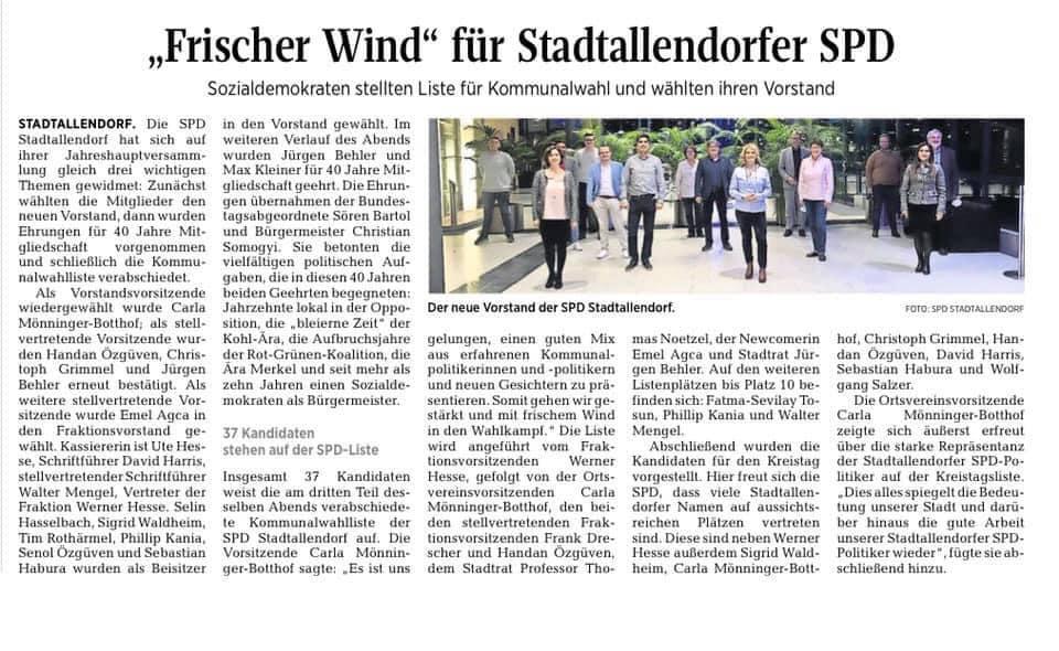 SPD Stadtallendorf Mitglieder